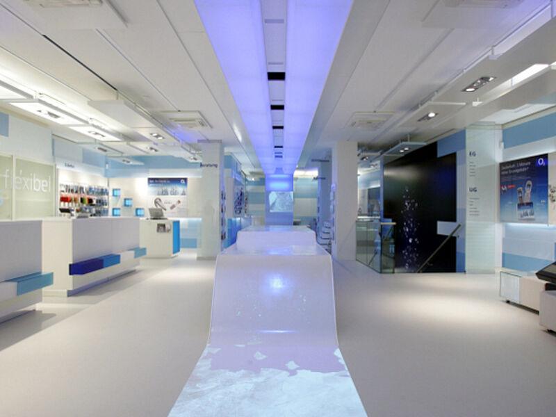 h ttinger interactive exhibitions telef nica o2 germany. Black Bedroom Furniture Sets. Home Design Ideas